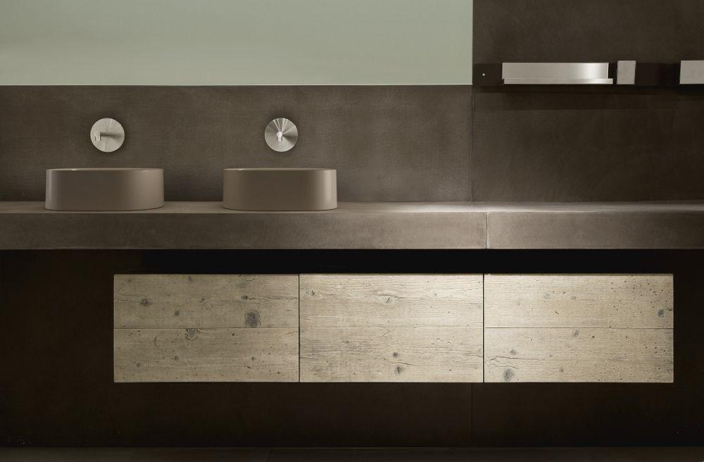Opzetwastafel van keramiek italiaans design galassia via luca sanitair wastafels badkamer - Badkamer design italiaans ...