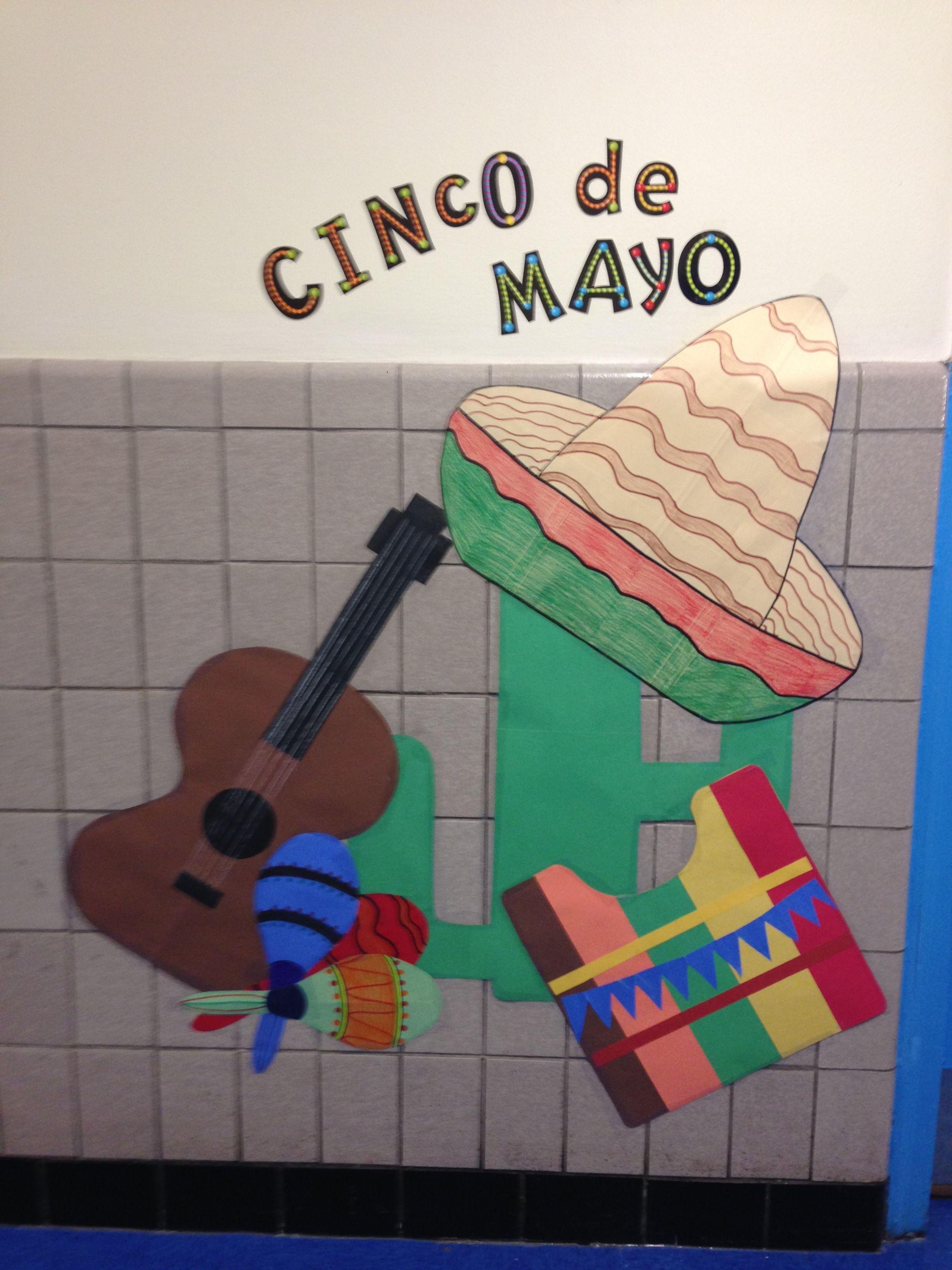 Cinco De Mayo Classroom Wall