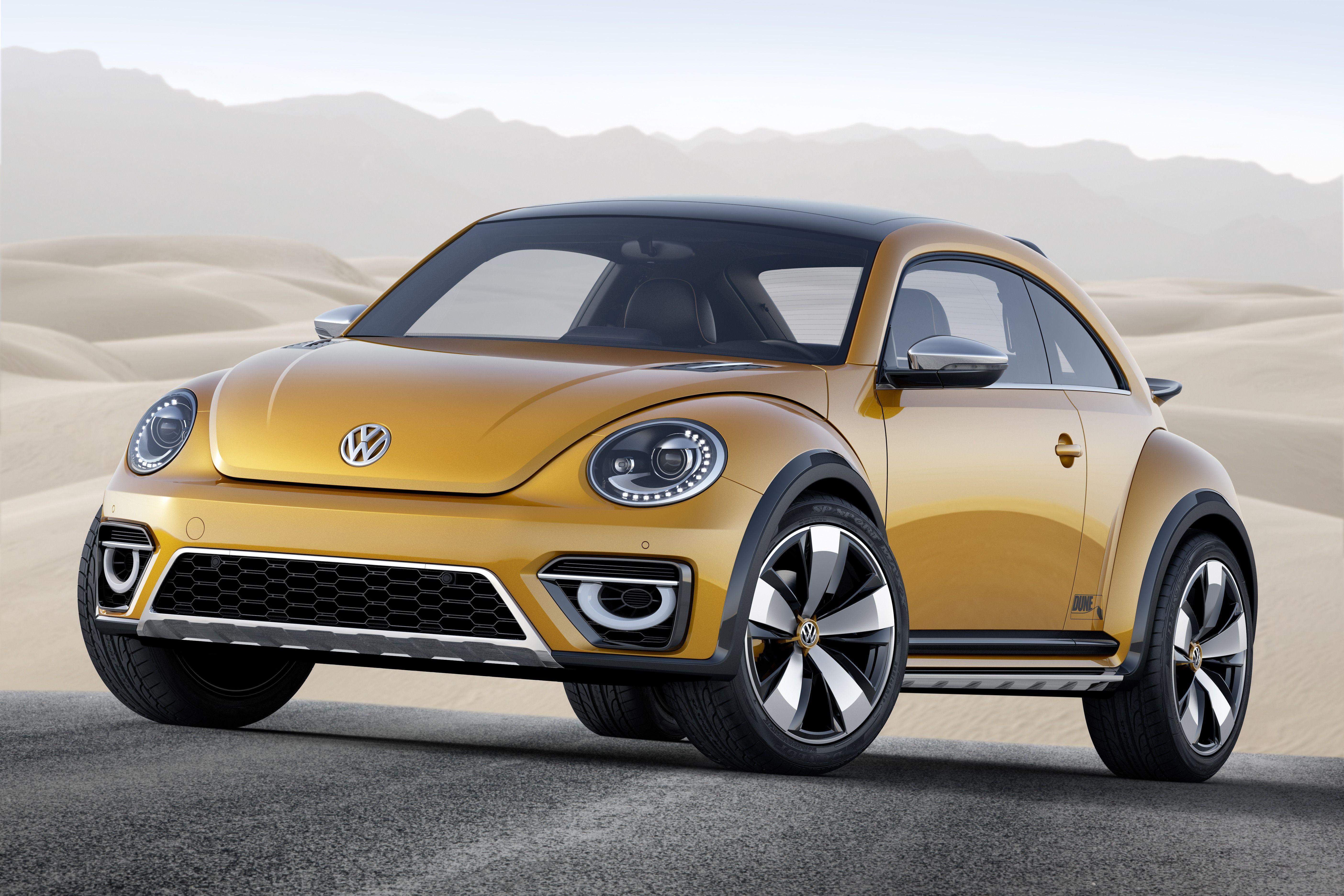 Volkswagen Beetle Dune concept Cars Pinterest