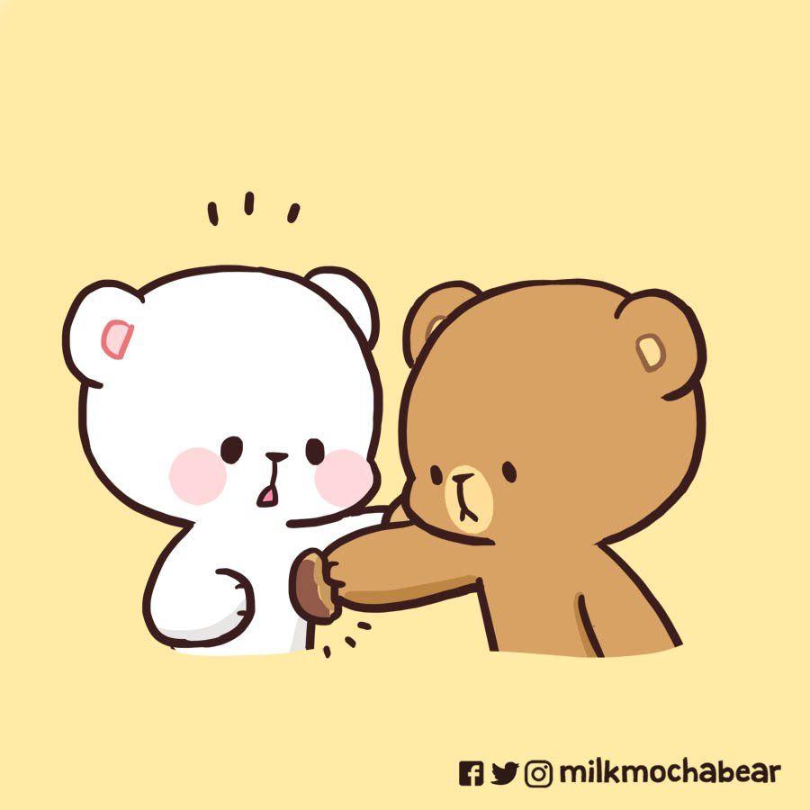 Milk Mocha On Twitter Cute Bear Drawings Cute Cartoon Wallpapers Cute Cartoon Images