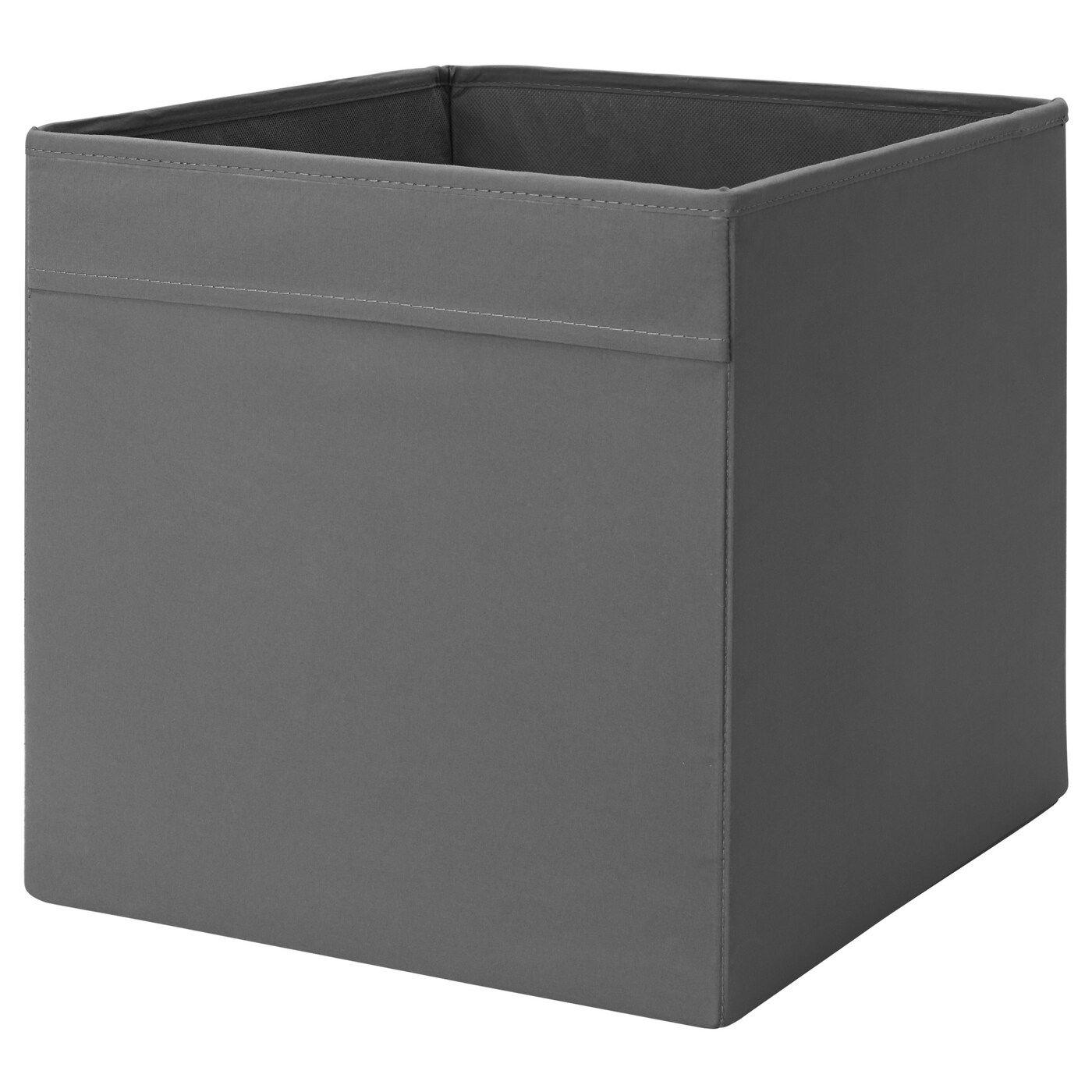 """DRÖNA Box, dark gray, 13x15x13"""" IKEA Kallax ikea"""