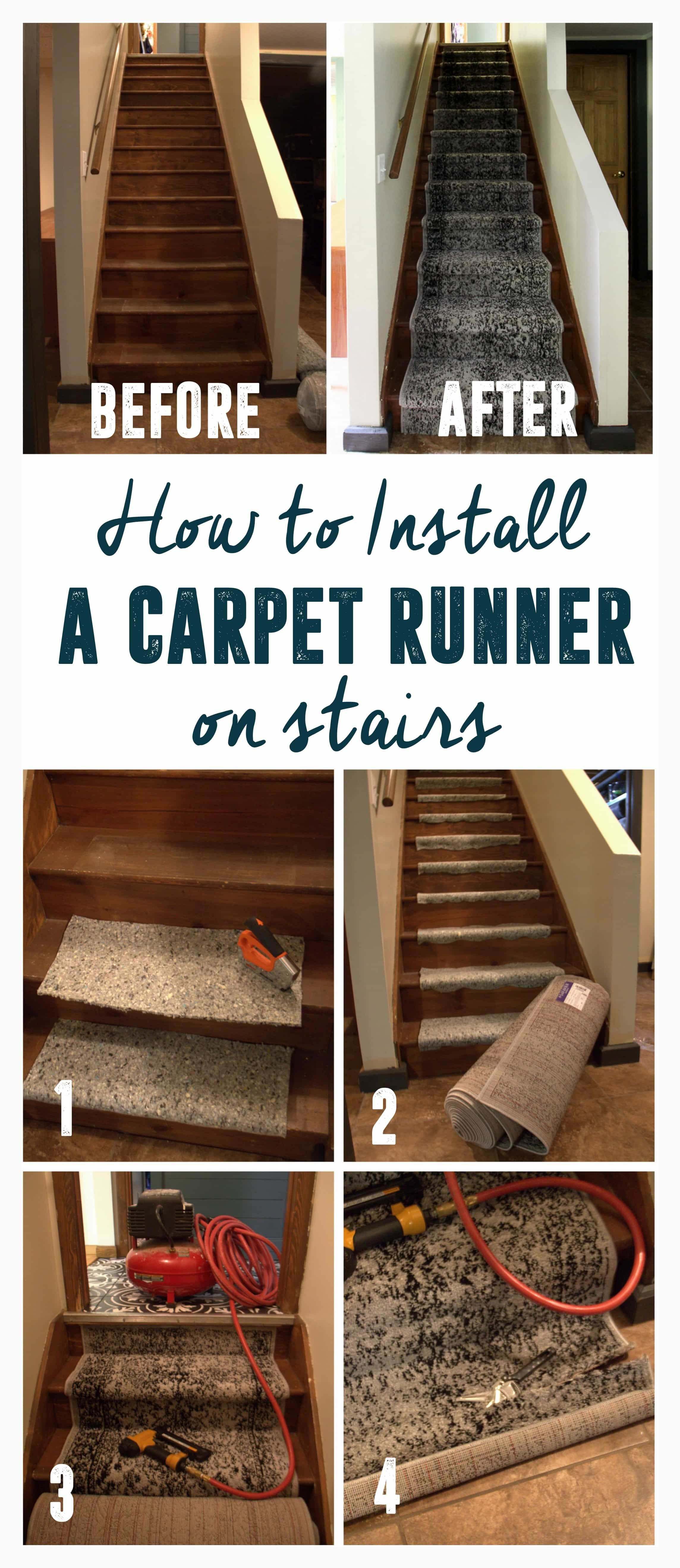 How To Install A Stair Carpet Runner