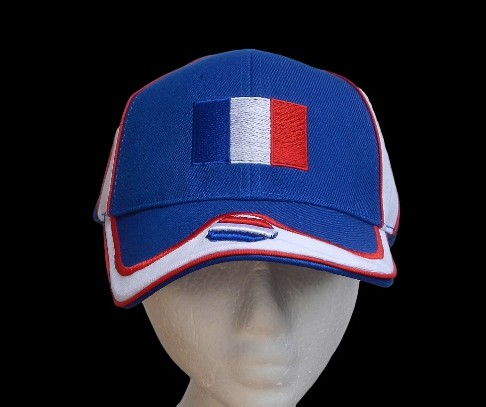 france french paris country flag baseball hat caps france