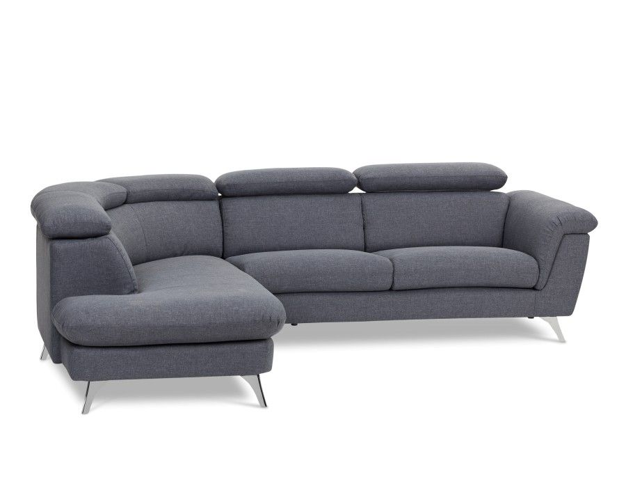 Canapes D Angle Modernes Sofas Modulaires En Cuir Structube Grey Sectional Sofa Modular Couch Sectional Sofas Living Room