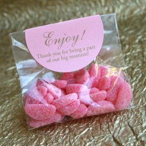 prezenty dla gości weselnych-cukierki