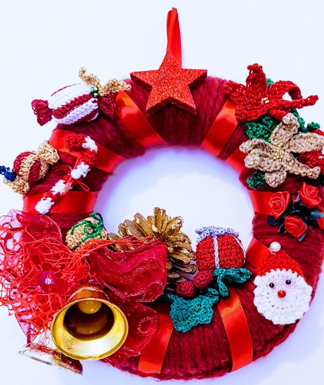 Photo of Ghirlanda natalizia fatta a mano