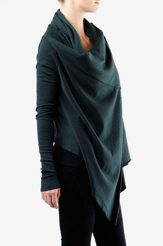 fleece cardigan patterns | Cardi Shawl Wrap