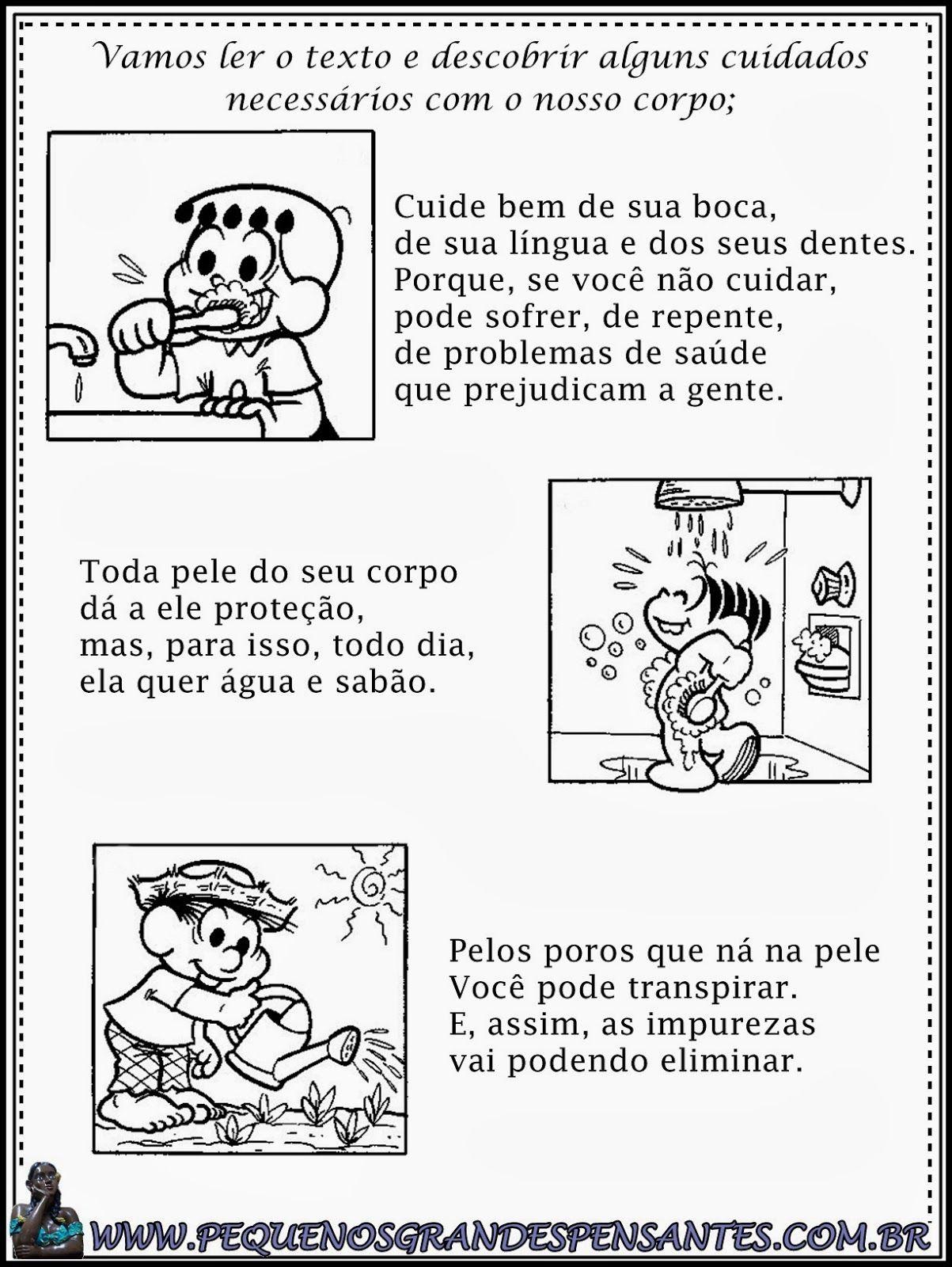 Favoritos Atividades para o Dia Mundial da Saúde - Educação Infantil  GU11