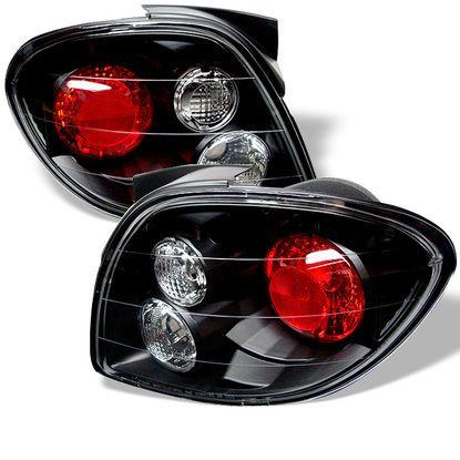 2000 2002 Hyundai Tiburon Euro Style Tail Lights Black Products