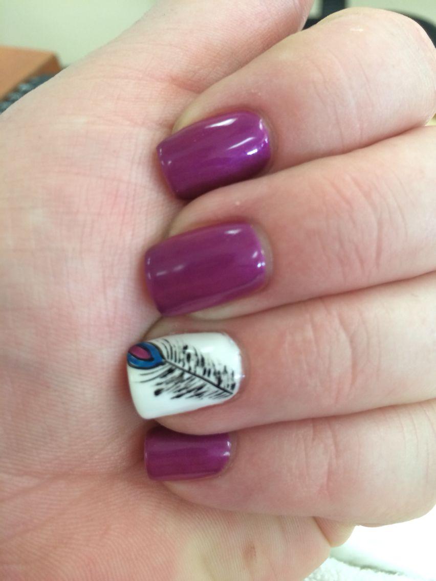 Peacock Feather #nails #naildesign #nailart | Nails, Nail ...