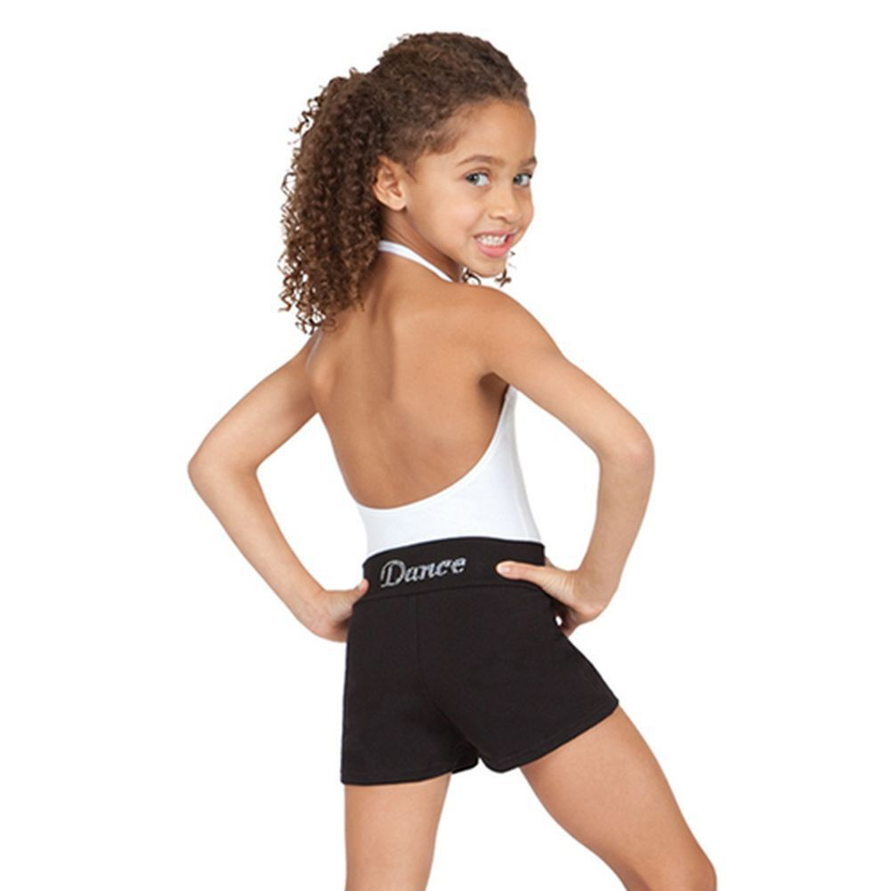 Cute girls dance shorts are comfortable cotton and spandex ...
