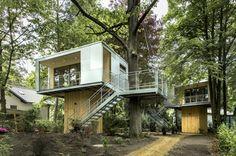 Urban Treehouses In Zehlendorf, Berlin, Germany
