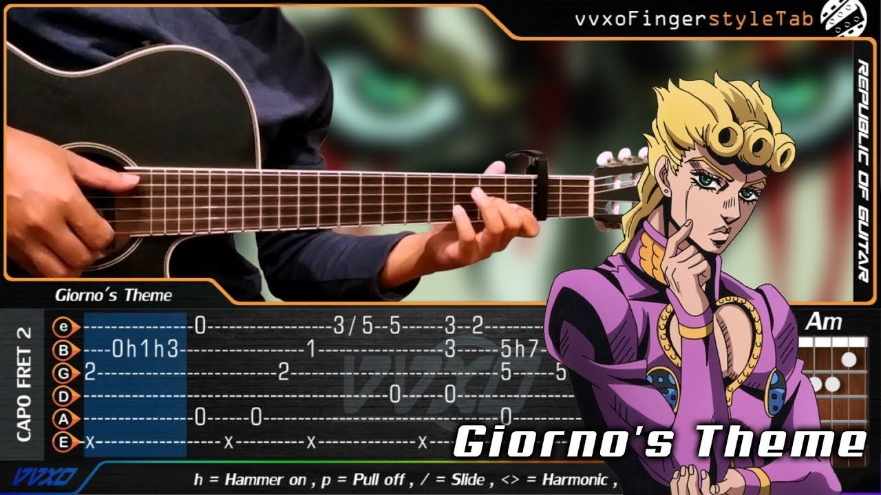 Giorno S Theme Jojo S Bizarre Adventure Golden Wind