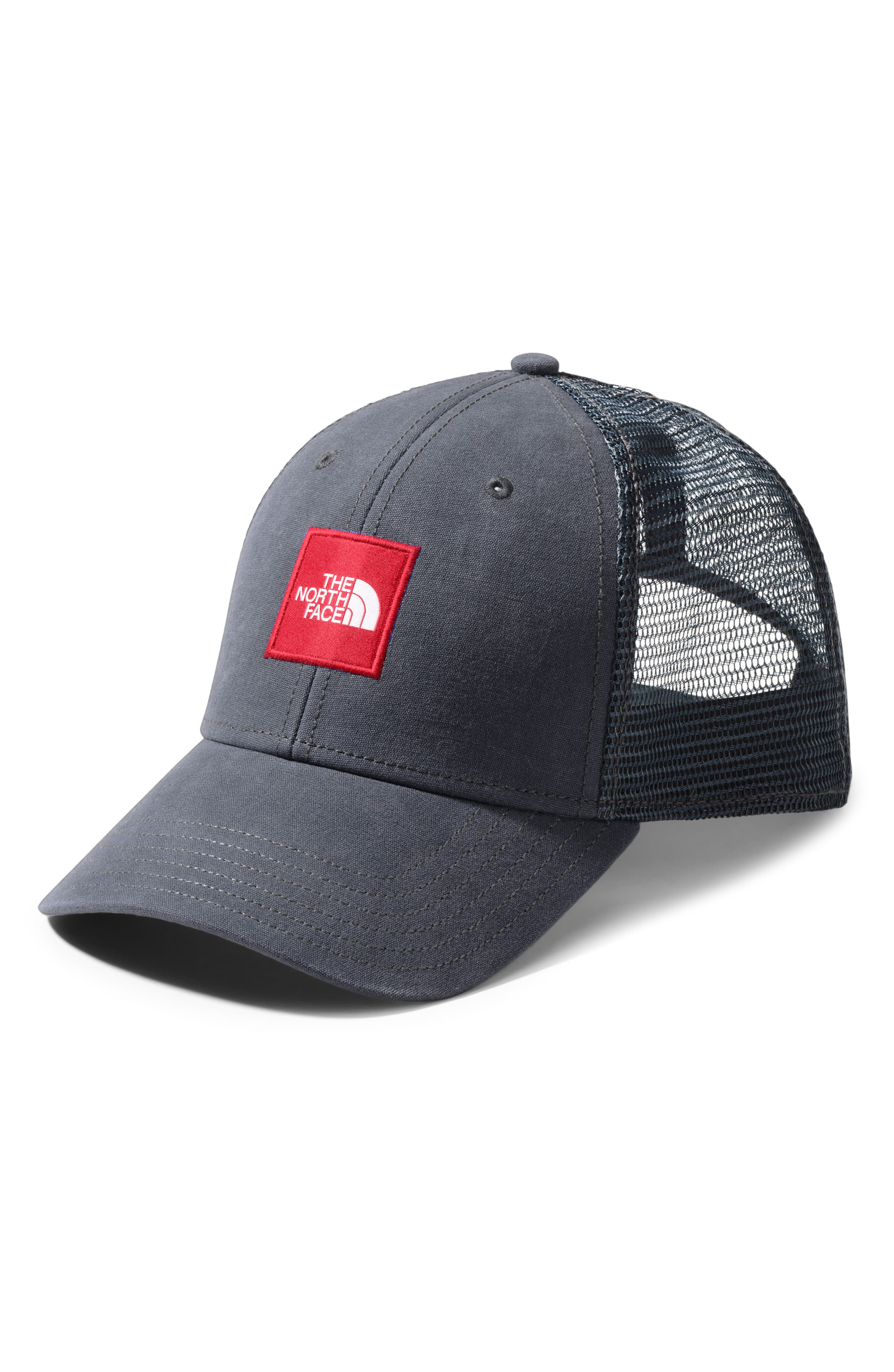717d48e86 Men's The North Face Box Logo Trucker Hat - Grey | Products in 2019 ...