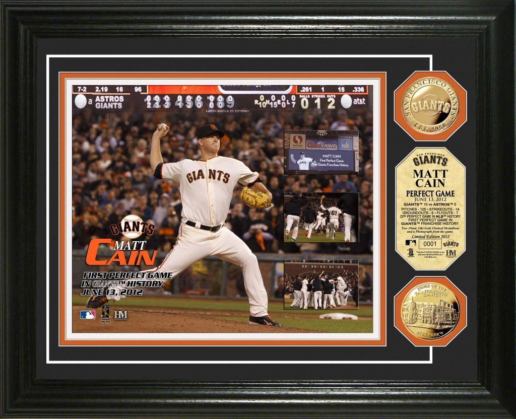 "AAA Sports Memorabilia LLC Matt Cain ""Perfect Game"" Gold"