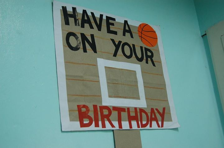 Birthday wall Classroom Theme Sports Pinterest Birthday wall