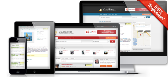 AppThemes ClassiPress + Theme Updater + Coupon Plugin + License ...