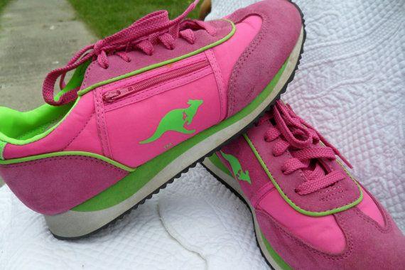 1980's Vintage KangaROOS Running Shoes