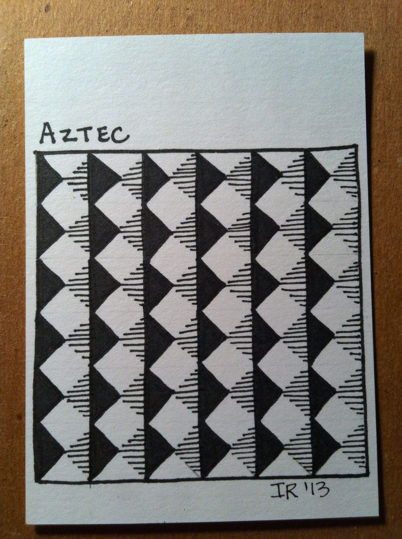 Aztec-my own design.