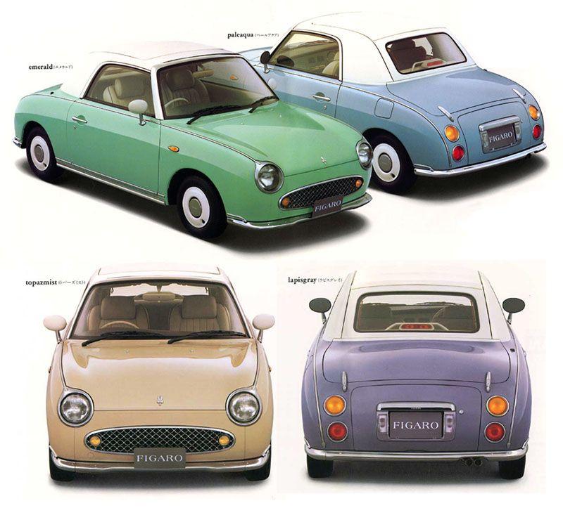 dream car   Nissan figaro, Dream cars, Classic japanese cars