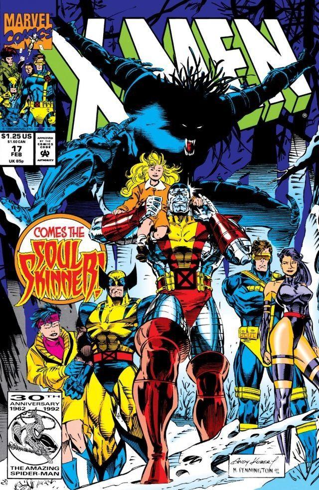 X Men 1991 17 Heroes Marvel Marvel Comics Personajes Comic