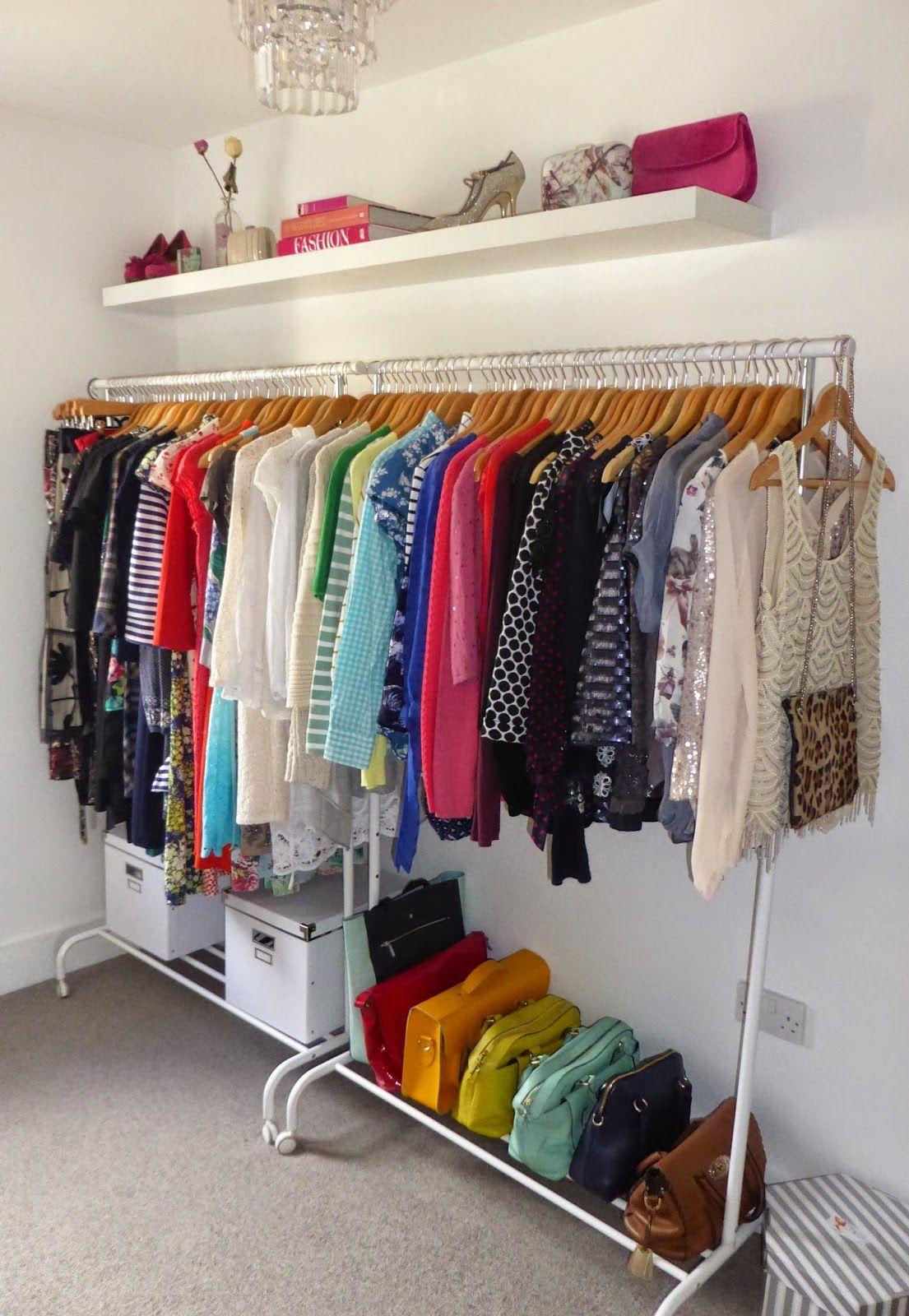 Best 25 spare room walk in closet ideas on pinterest for Bedroom dressing ideas