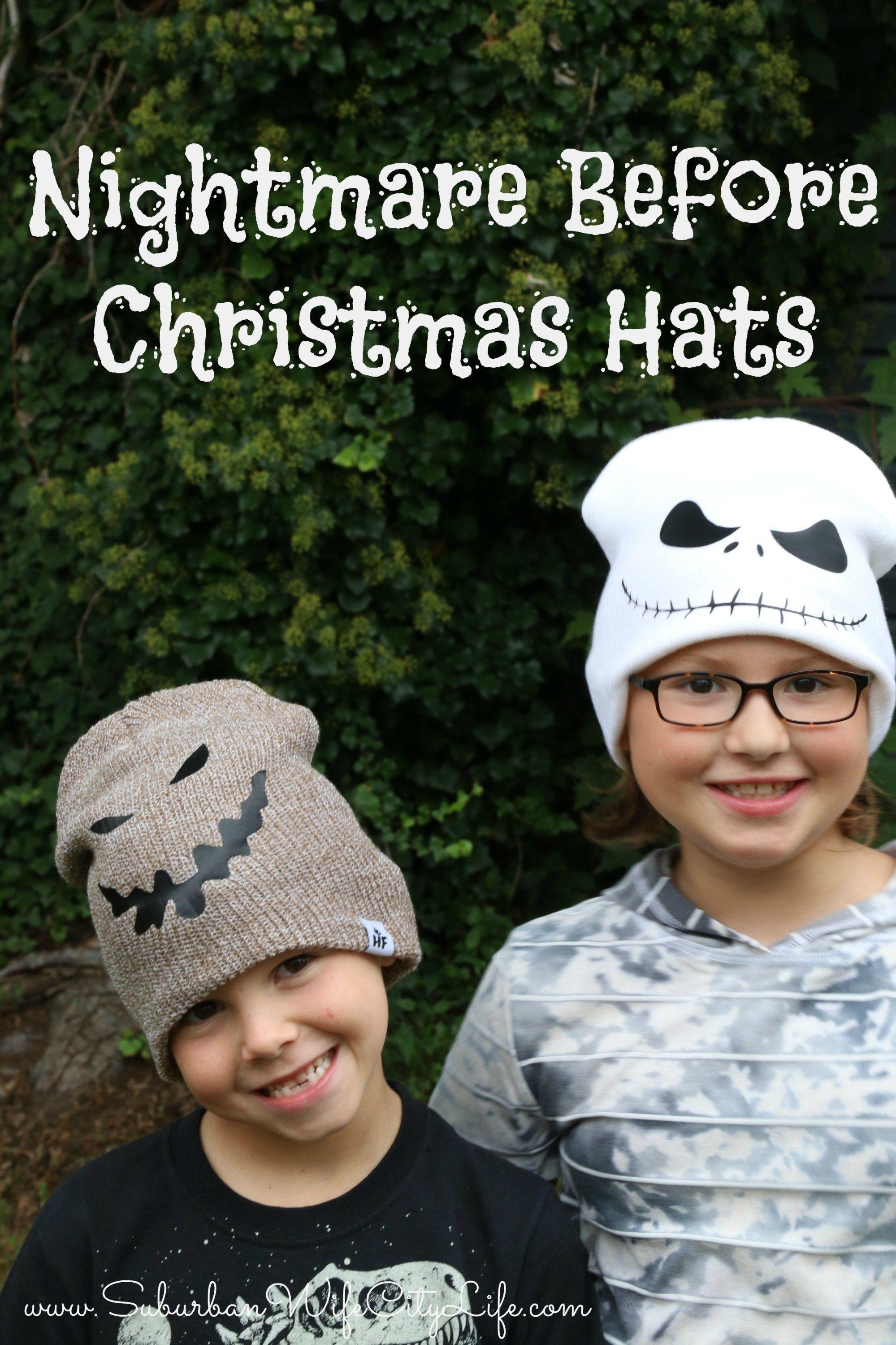 Nightmare Before Christmas Hats Nightmare Before Christmas Christmas Hat Diy Jack Skellington