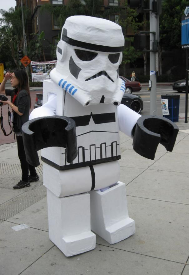 how to make a homemade stormtrooper costume