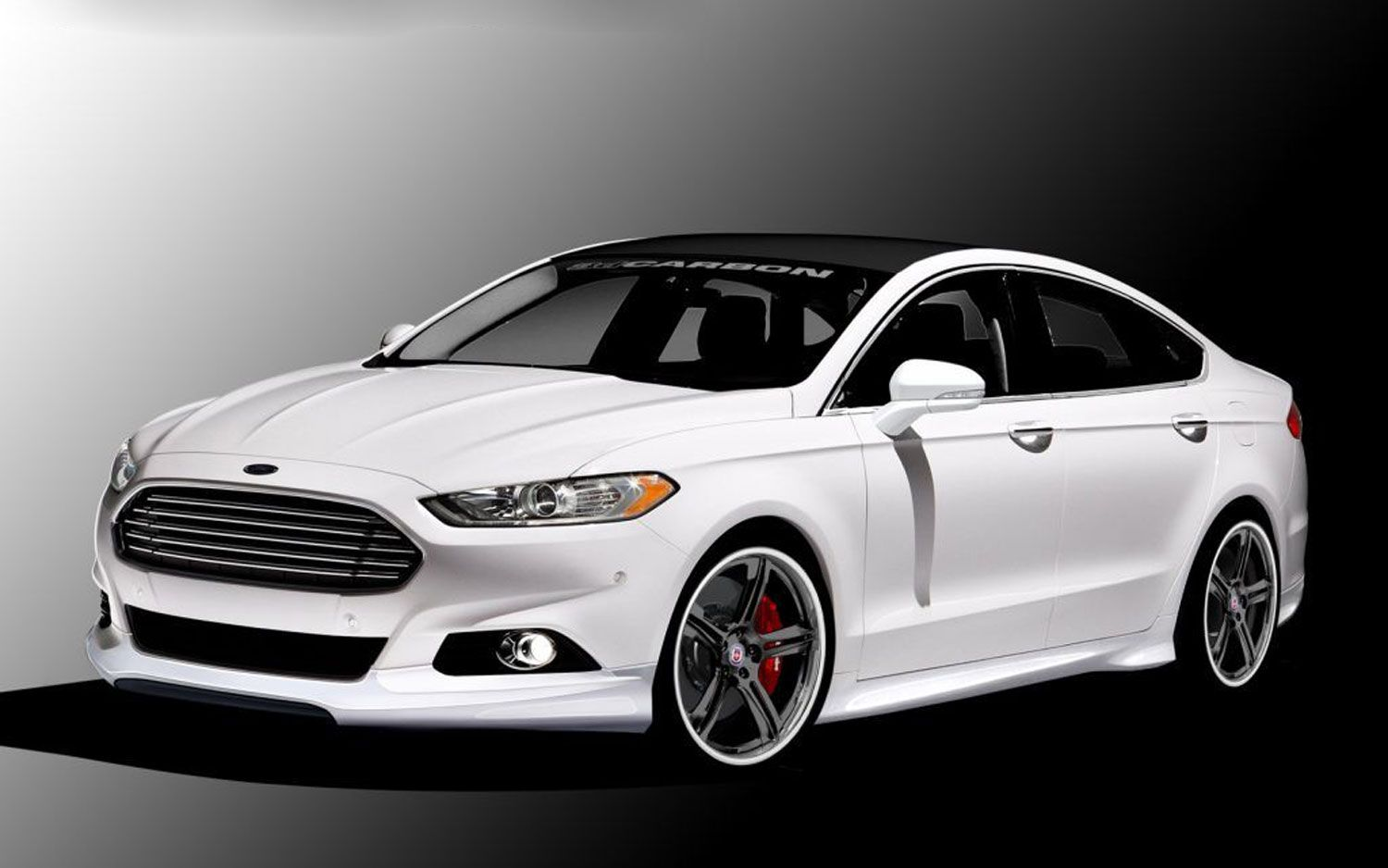 Four Modified 2013 Ford Fusions Teased Before Sema Show Debut Ford Fusion 2013 Ford Fusion Ford Fusion Custom