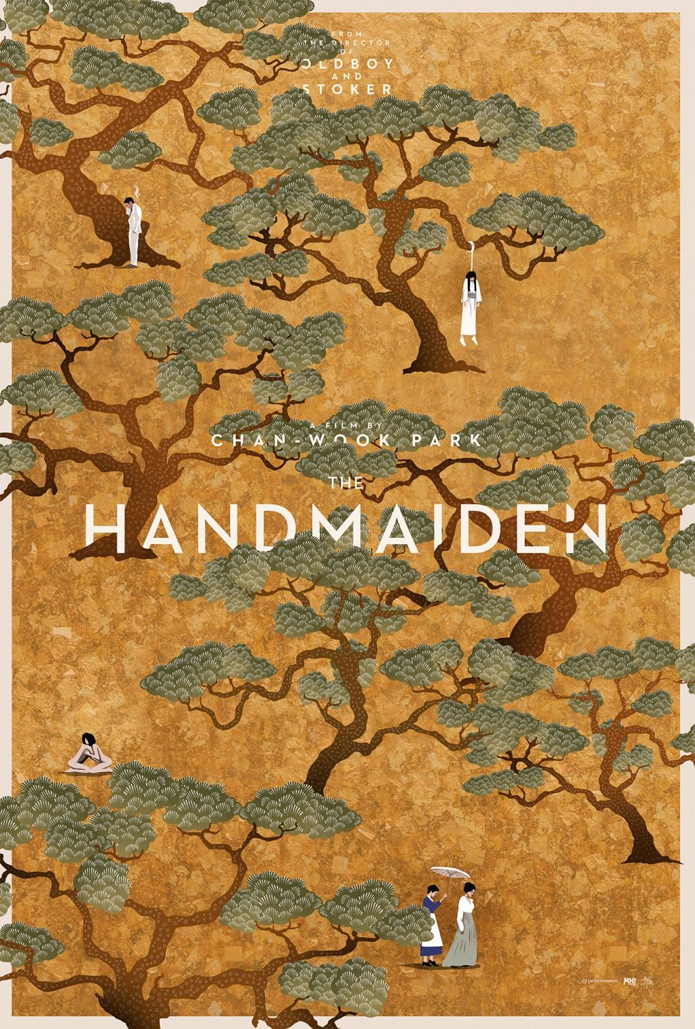 """The Handmaiden"" movie poster, one of our favorite movies that explores female relationships!"