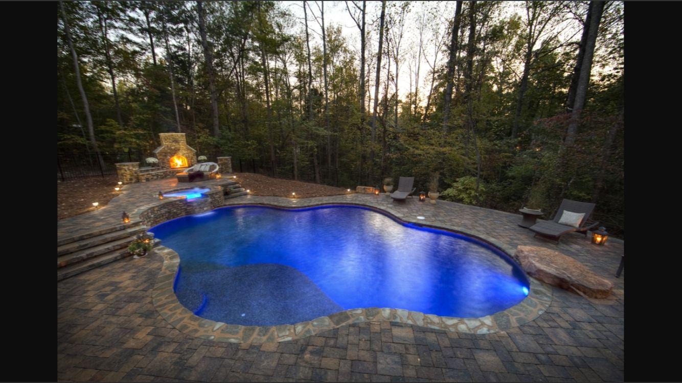Natural pool design | Pool | Pinterest | Pool designs