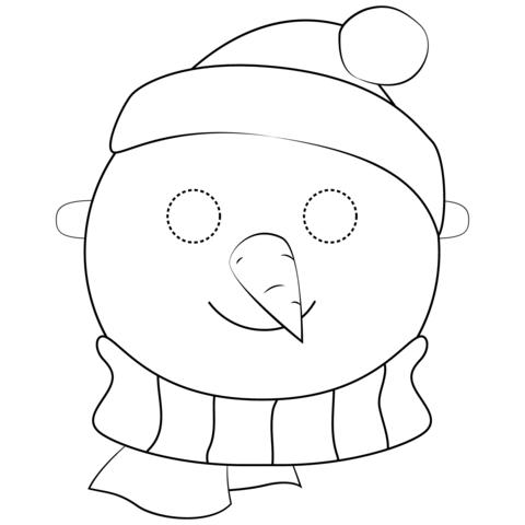 24++ Supercoloring snowman ideas
