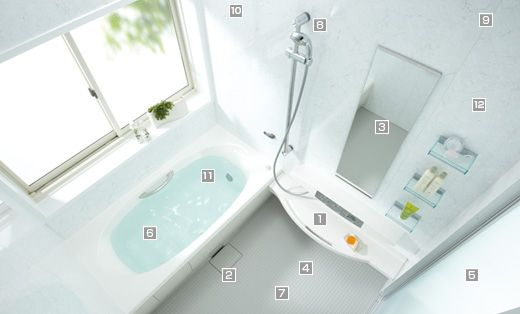 I wish I could buy a Japanese bathing area (Unit Bath) for my house ...