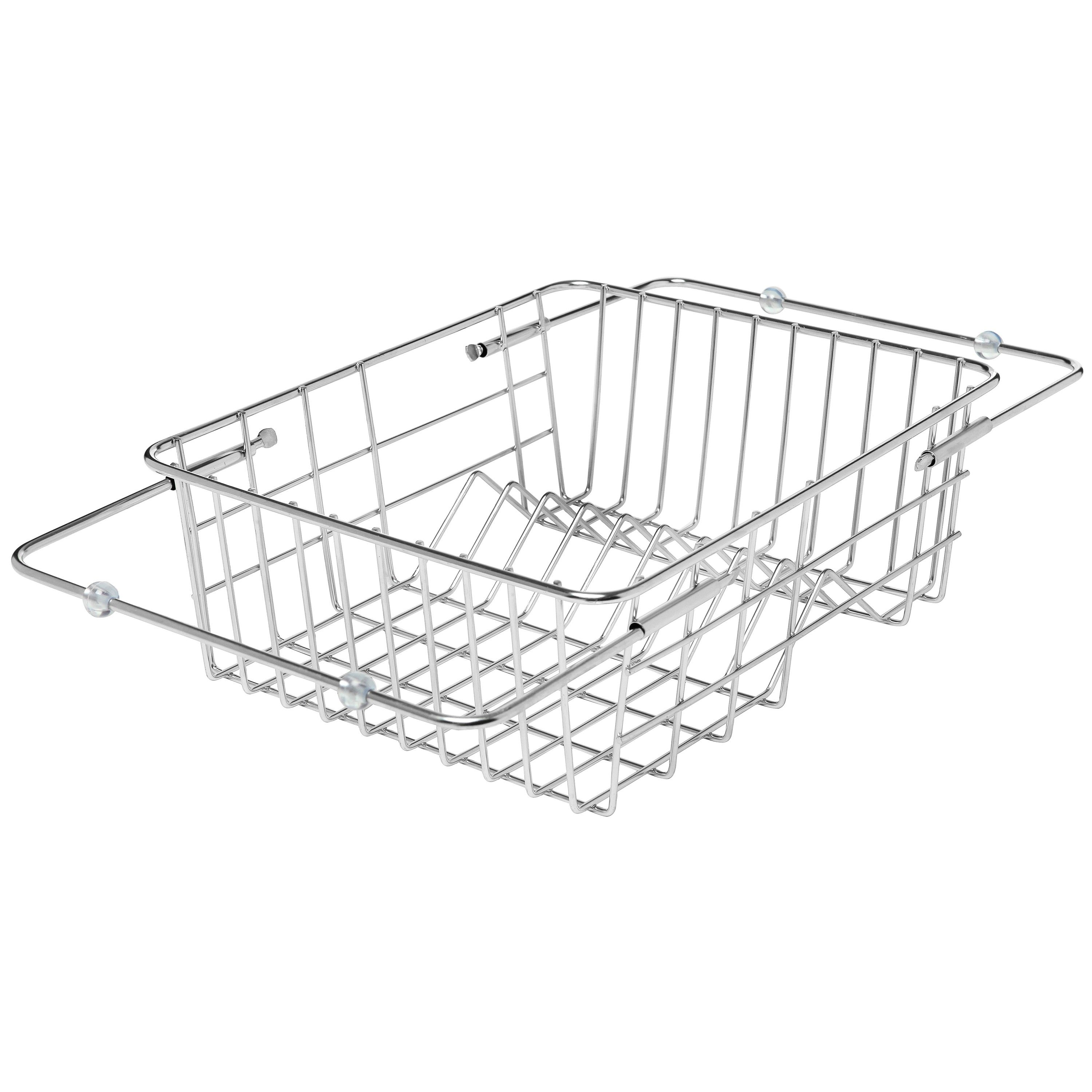 Space Saving Dish Rack Save Counter Space By Letting Dishes Dry Over The Sink In This