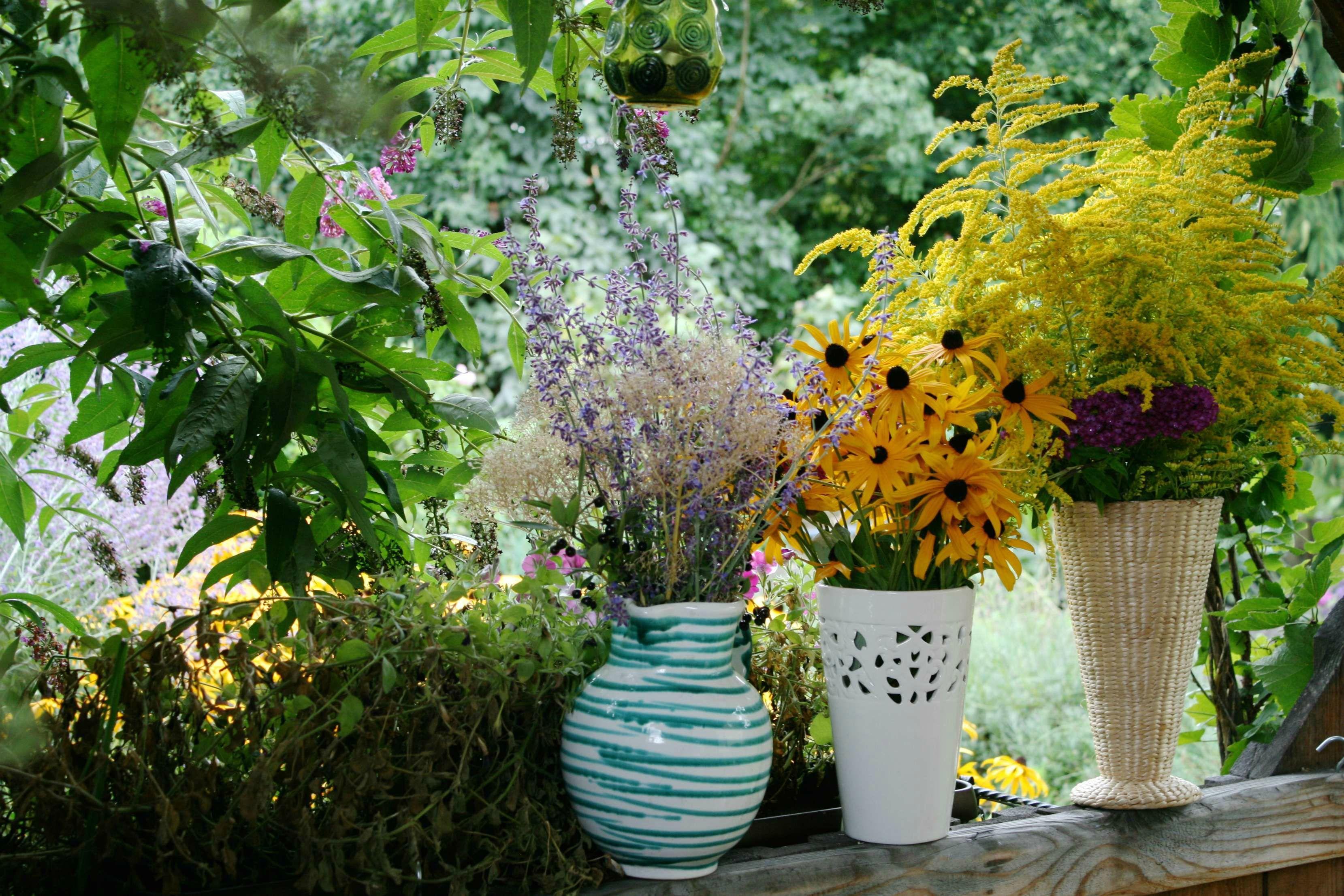 Herbstblumen DIY