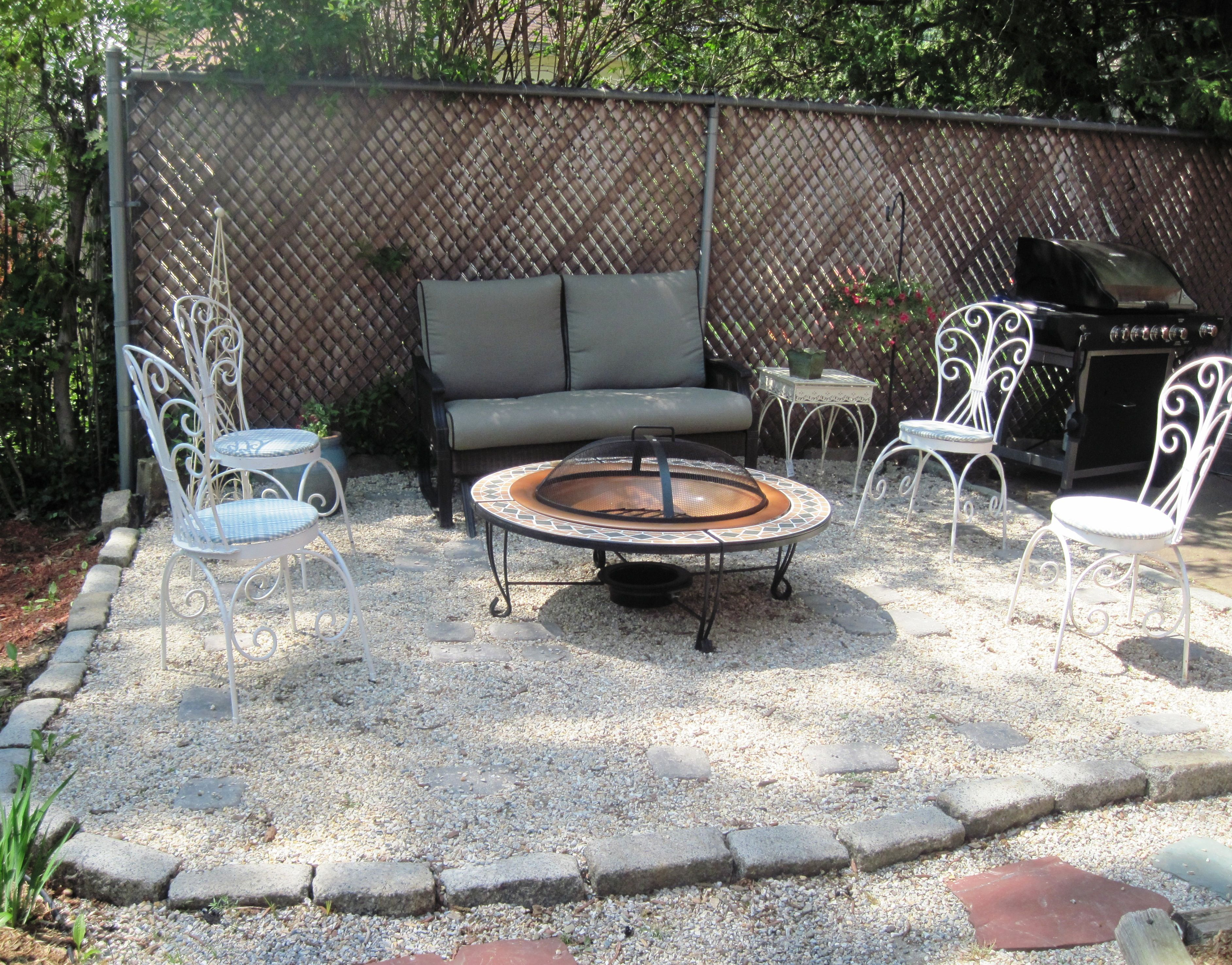 gravel backyard design ideas turriglios backyard