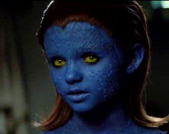 Lil Mistique X Men Mystique Special Effects Makeup