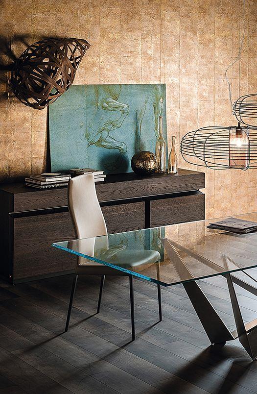Linee moderne ma con un non so che di retrò... #design #table ...
