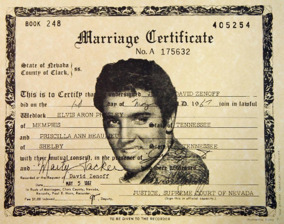 Las Vegas Marriage Records Topsimages