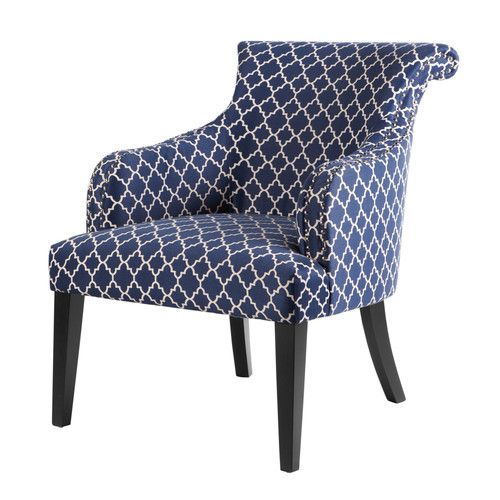 Best Jabari Slipper Chair Accent Chairs Blue Accent Chairs 400 x 300