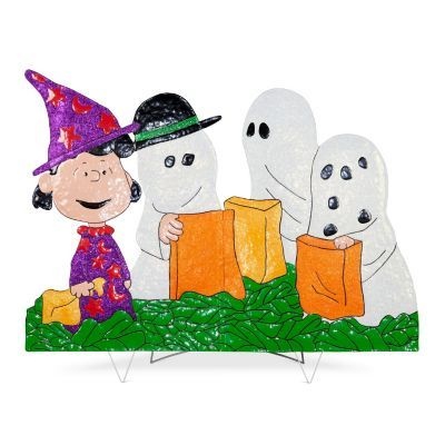 Peanuts Gang in Halloween Costumes Yard Decor Halloween costumes - halloween catalog