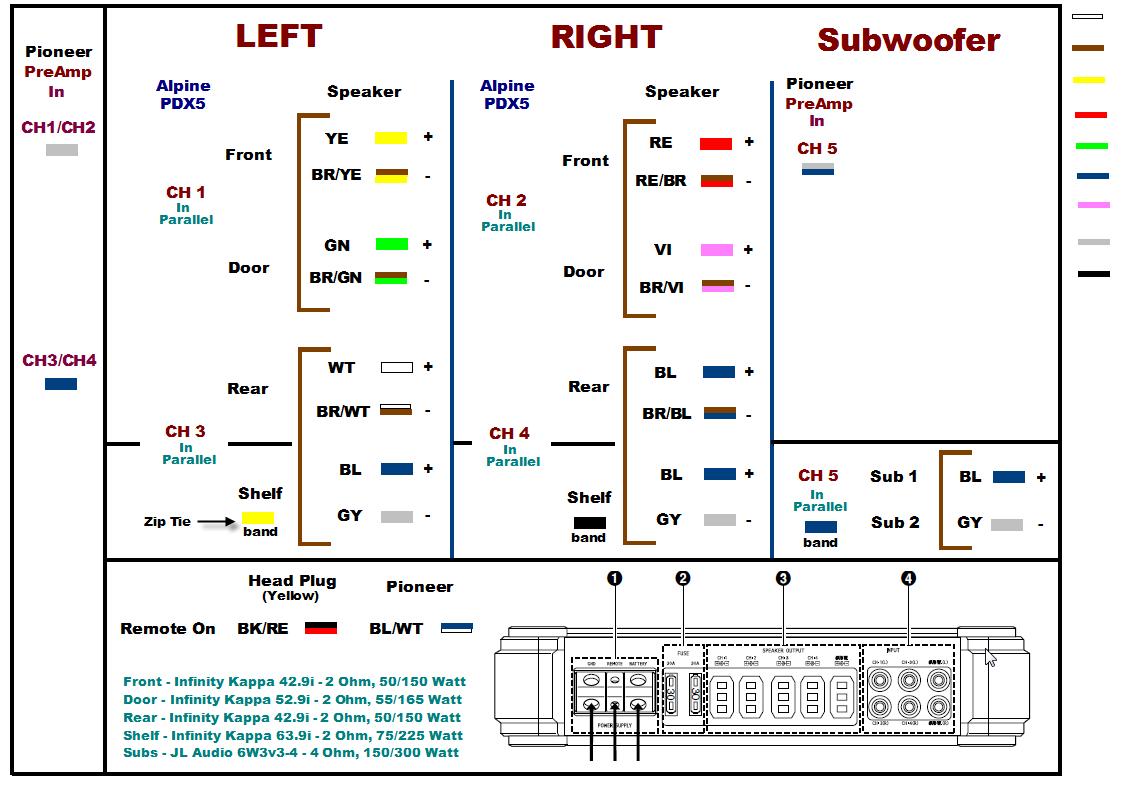2003 Toyota Tundra Stereo Wiring Diagram  DigitalWEB