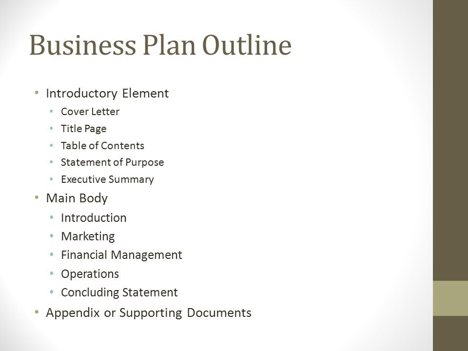 Main purpose of a business plan best opinion business