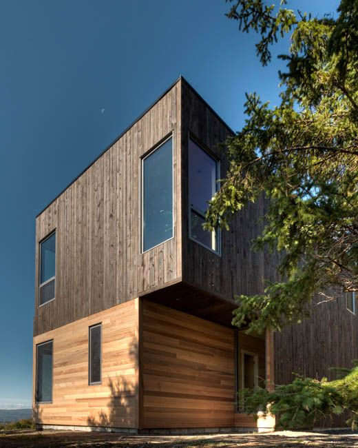 La Paroi Residential | La Malbaie, Quebec, Canada | MU Architecture