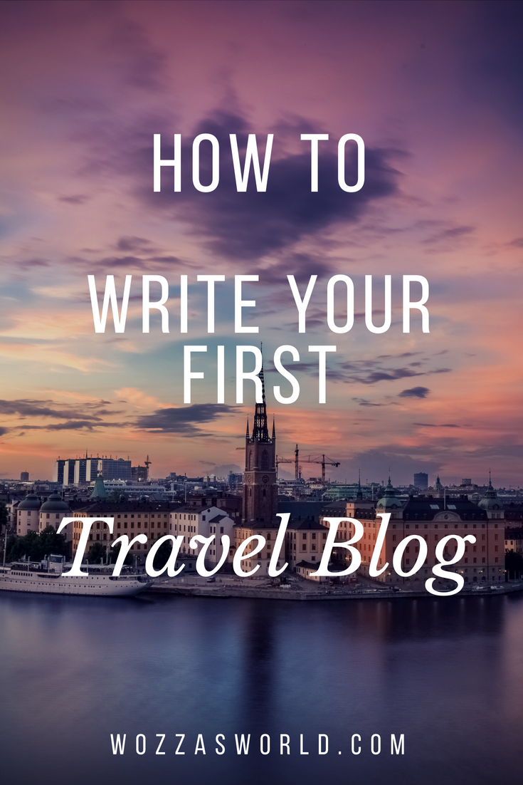 picture How to Write a Travel Blog