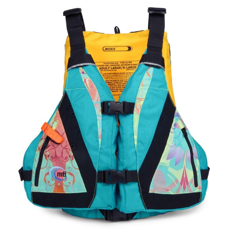 MTI Moxie Life Jacket Life vest, Fishing vest, Canoe