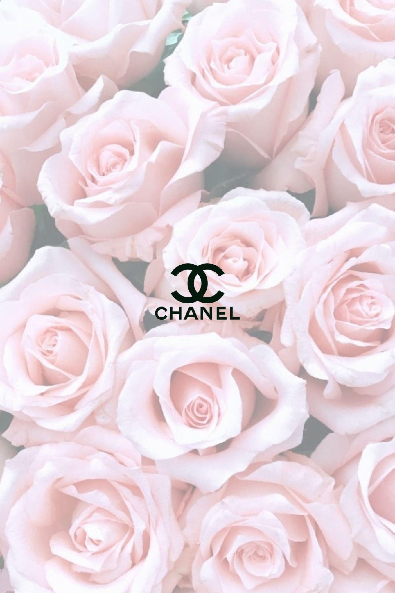 Chanel Aesthetic Rose Wallpaper 1000 Pink Wallpaper Girly Aesthetic Roses Phone Wallpaper Pink