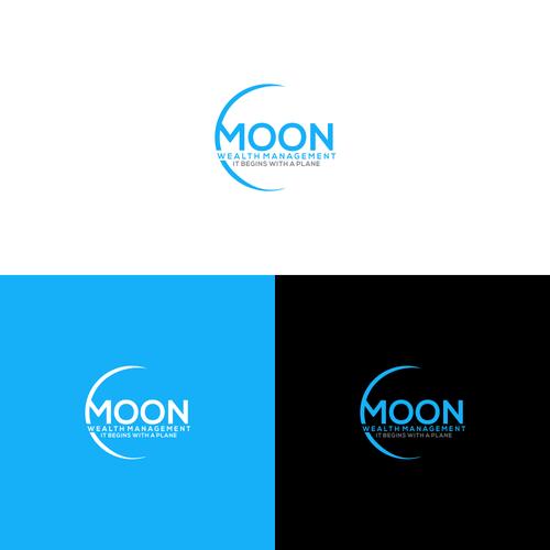 Creative Financial Planning Lunar Logo Design Logo