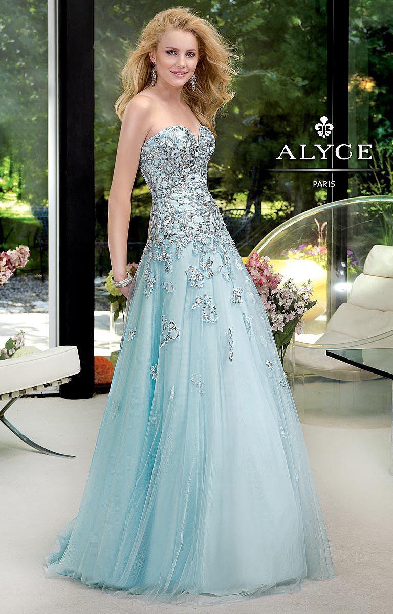 Blue plus size wedding dresses  Alyce Paris     Blues  Pinterest  Gowns Evening