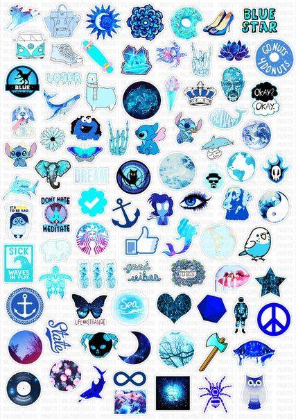 Collage Azzurro Foglio Per Collage Pinterest Fondos De